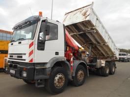 kipper vrachtwagen > 7.5 t Iveco Trakker 1998