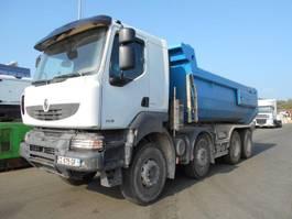 kipper vrachtwagen > 7.5 t Renault Kerax 2008