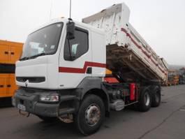 kipper vrachtwagen > 7.5 t Renault Kerax 2001