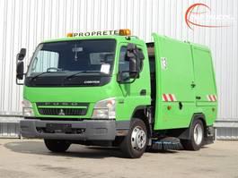 Veegmachine vrachtwagen Mitsubishi Fuso Canter 7 C15 Voire BMV BM20 Veegwagen, Road Sweeper, Kehrmachine. 2013