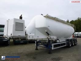 tankoplegger Feldbinder Powder tank alu 40 m3 + engine/compressor 2005