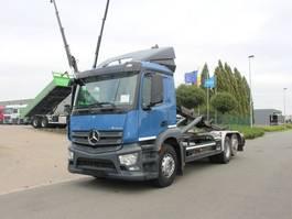 containersysteem vrachtwagen Mercedes Benz 2643 ANTOS - 6X2 - EURO 6 - CONTAINERWAGEN 2014