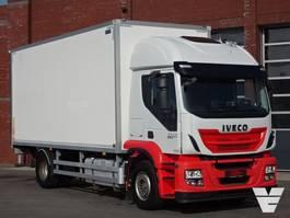 bakwagen vrachtwagen > 7.5 t Iveco Stralis 360 EEV - 4x2 - Box truck - side opening - loadlift - Full air 2013