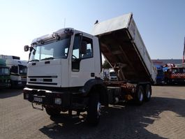 kipper vrachtwagen > 7.5 t Iveco EuroTrakker 350 + Manual + PTO + Kipper + NO CRANE !!!! 2000