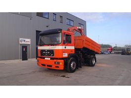 kipper vrachtwagen > 7.5 t MAN 19.272 (MANUAL PUMP / PERFECT CONDITION) 1992