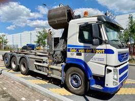 containersysteem vrachtwagen Volvo 8x4 FM 500 Kraan/haak EEV 2012