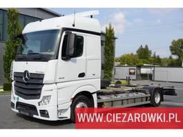 chassis cabine vrachtwagen Mercedes Benz Actros 1845 , E6 , 4x2 , BDF , Low deck /MEGA , 3 x fuel tanks 1 2018