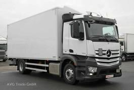 bakwagen vrachtwagen > 7.5 t Mercedes Benz 1833 L ANTOS 7,3 m Koffer LBW Liege Retarder 2017