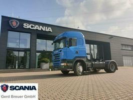 standaard trekker Scania R410 LA4X2MSA Highline Hydaulik Semi Hoch retard 2016