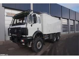 bakwagen vrachtwagen > 7.5 t Mercedes-Benz 2638 AK V8 6x6 Assistentie voertuig 1995