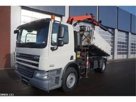 kipper vrachtwagen > 7.5 t DAF FA 75 CF 310 Palfinger 11 ton/meter laadkraan 2012