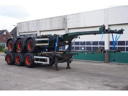 container chassis oplegger Nooteboom Container chassis 45ft. / Multi / Extendable / 37.450 KG Loading Capacity 1999