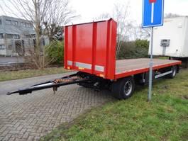 open laadbak aanhanger Burg BPA 09-09 SRNXX 2 As Vrachtwagen Aanhangwagen Open, WP-DR-01 2004