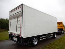 gesloten opbouw aanhanger Floor FLA 10 101 2 As Vrachtwagen Aanhangwagen Gesloten, WP-90-LG 1996