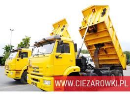 kipper vrachtwagen > 7.5 t КАМАЗ 6540 , 8x4 , 20.000km mileage , backside tipper , manual , like 2012