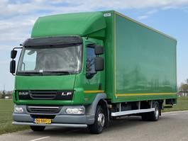 bakwagen vrachtwagen > 7.5 t DAF LF 45.160 EURO5  2012. 207443km. 710x248x240. Bakwagen met Laadklep. 2012