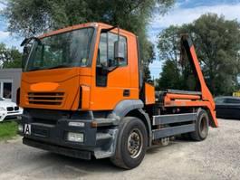 containersysteem vrachtwagen Iveco Magrius Blatt/Luft Atumatik 2004