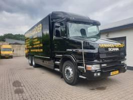 bakwagen vrachtwagen > 7.5 t Scania T114G 340 Torpedo 1999