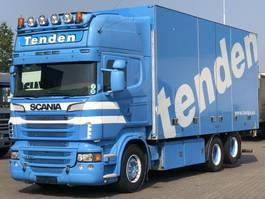 bakwagen vrachtwagen > 7.5 t Scania R620 V8 FULL SIDE OPENING RETARDER EURO 5 2012