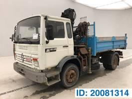 kipper vrachtwagen > 7.5 t Renault M180 1991
