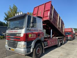 containersysteem vrachtwagen Ginaf X 3232 S 6x4 euro 5 translift en jonsen 100z 2006