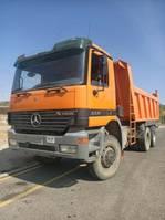 kipper vrachtwagen > 7.5 t Mercedes Benz Actros 3331/6x6/Meiler Kipper