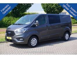 gesloten bestelwagen Ford Transit Custom 300L 170PK DC Limited Aut €478 / Maand Leder Navi Camera ... 2020