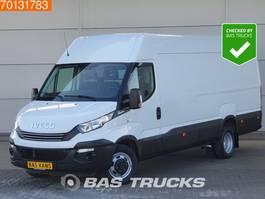 gesloten bestelwagen Iveco Daily  35C16 160PK Automaat Dubbellucht Parkeersensoren Airco L3H2 16m3 A/C 2018