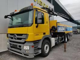 bakwagen vrachtwagen > 7.5 t Mercedes Benz Actros 2541L 2009