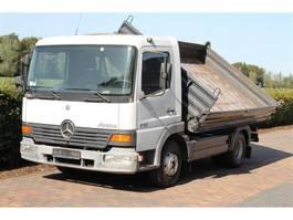 kipper bedrijfswagen Mercedes Benz Atego 817-818  KIPPER MEILLER KIPPER 158000 KM 2000