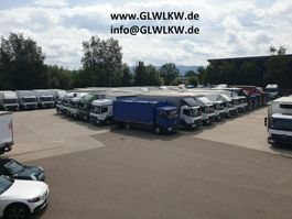koelwagen bakwagen Mercedes Benz ATEGO 918 L Kühlkoffer 5 m CARRIER*NL 3,7 T*E 6 2015