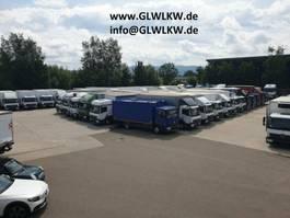 bakwagen bedrijfswagen < 7.5 t Mercedes Benz ATEGO 818 L Möbelkoffer 7,10 m*Luft HA*AHK-MAUL 2014