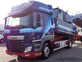 kipper vrachtwagen > 7.5 t DAF CF 460 + Euro 6 + Kipper + pto+ retarder 2014