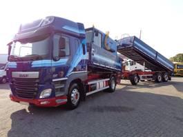 kipper vrachtwagen > 7.5 t DAF CF 460 COMBI + KEMPF KIPPER + Euro 6 + Kipper + pto 2014