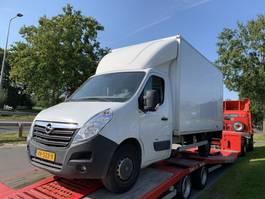 gesloten bestelwagen Opel MOVANO 2015