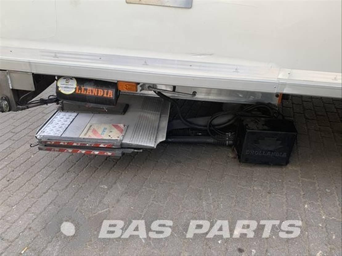 Opbouw vrachtwagen onderdeel Diversen Chassis opbouw diverse Carrosseriefabriek Harderwijk 2015