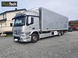 bakwagen vrachtwagen > 7.5 t Mercedes Benz Actros 2543L 2015