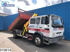 kipper vrachtwagen > 7.5 t Renault M 210 Steel suspension, Manual, Double cabin,  Hub reduction 2003