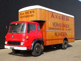 bakwagen vrachtwagen > 7.5 t Bedford COLLECTOR'S ITEM / OLD-TIMER / WOODEN STRUCTURE 1971