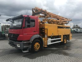 betonpomp vrachtwagen Mercedes-Benz 1829 Putzmeister 24m - German Pump 2010