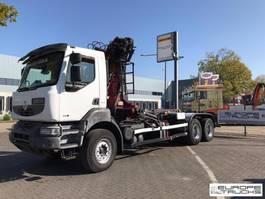 containersysteem vrachtwagen Renault Kerax 410 Full steel - Crane - Rotator - Hook - E4 2008