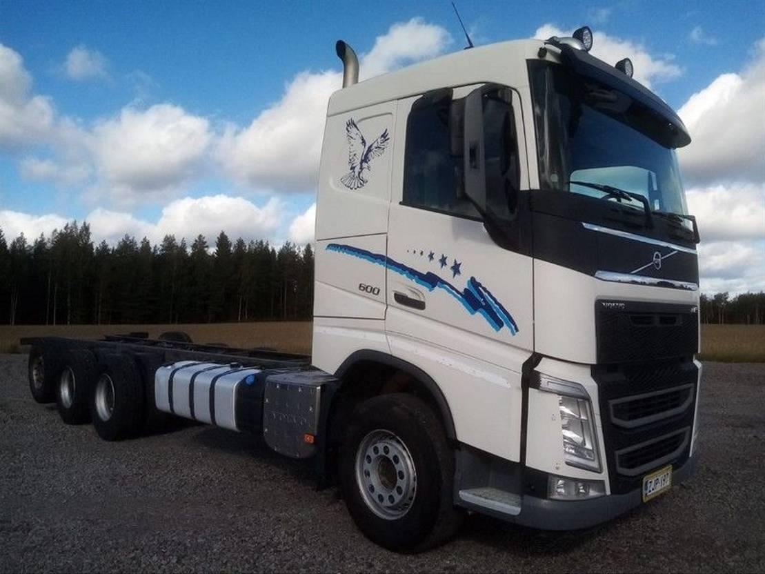chassis cabine vrachtwagen Volvo FH-16 8X4 4900 2014