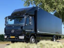 bakwagen vrachtwagen > 7.5 t Mercedes Benz ATEGO 1221L EURO6.  122160km!!  820x249x245 Bakwagen met Laadklep, als i... 2015