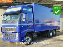 bakwagen vrachtwagen > 7.5 t Volvo FH 500  6X2 XL VEB+ ACC Steering-Axle Ladebordwand Euro 5 2012
