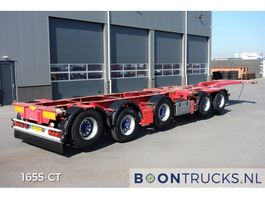 container chassis oplegger Broshuis 2 CONNECT-5AKCC | 4 x LIFTACHSE * 3 x LENKACHSE 2008