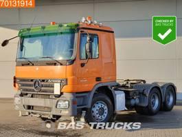 standaard trekker Mercedes Benz Actros 2646 LS 6X4 Retarder Hydraulik 3-Padels Euro 4 2007