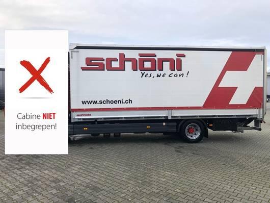 bakwagen vrachtwagen > 7.5 t Losse Laadbak inclusief Laadklep
