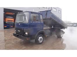 kipper vrachtwagen > 7.5 t Iveco Magirus 80 - 13 (SUSPENSION LAMES / STEEL SUSPENSION) 1990