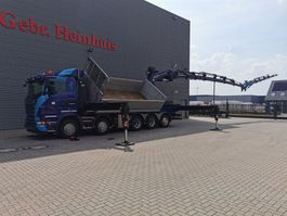 kipper vrachtwagen > 7.5 t Scania R560 10x4 Euro 5 Palfinger PK 92002SH 7 x Hydr. Winch Jip 6 x Hydr. 2 se... 2013