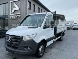 open laadbak bedrijfswagen Mercedes Benz Sprinter 516 Stahl-Pritsche/Kiste/3,5t AHK 1,49% 2020